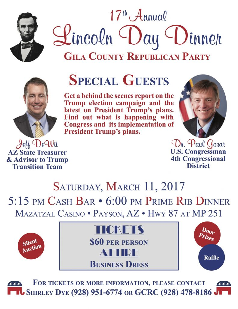 2017 Lincoln Day Dinner flyer final 01-25-17