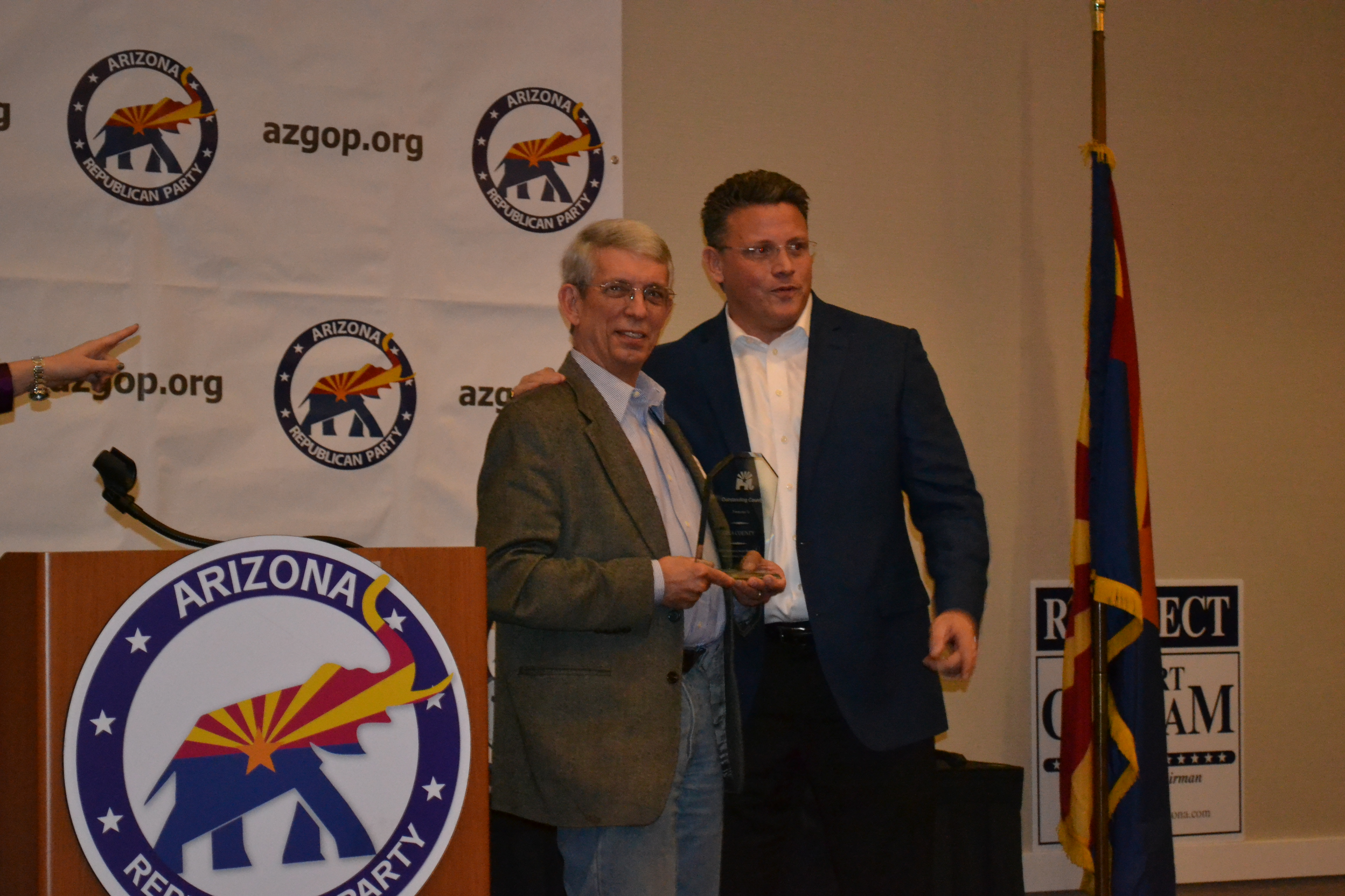 Arizona gila county pine - In Addition Our Own Lolly Hathhorn 1st Vice Chairman Of Gila County Won The Prestigious Dodie London Award For Outstanding Service To The Arizona